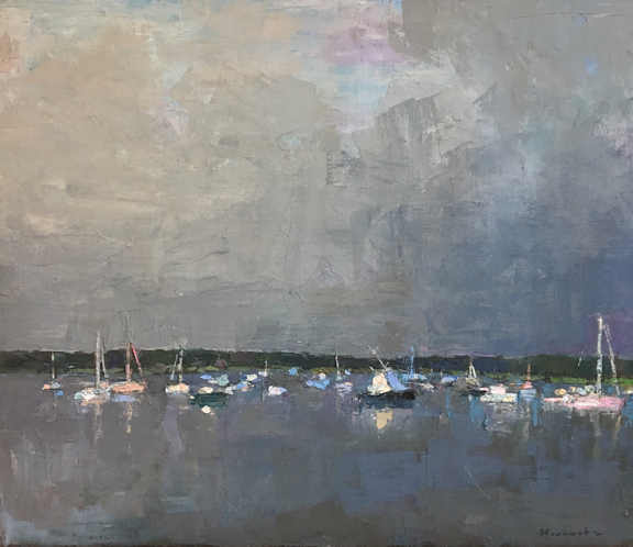 LARRY HOROWITZ      - Boats in Grey