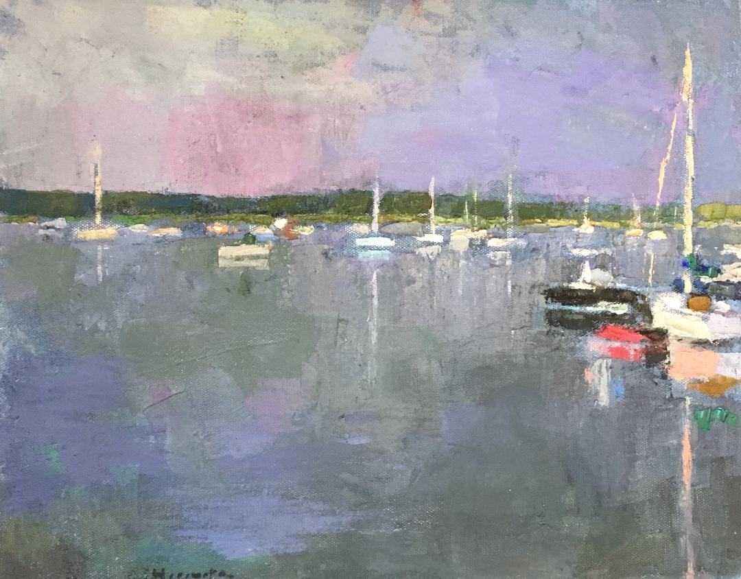 LARRY HOROWITZ      - Wellfleet Harbor 2017