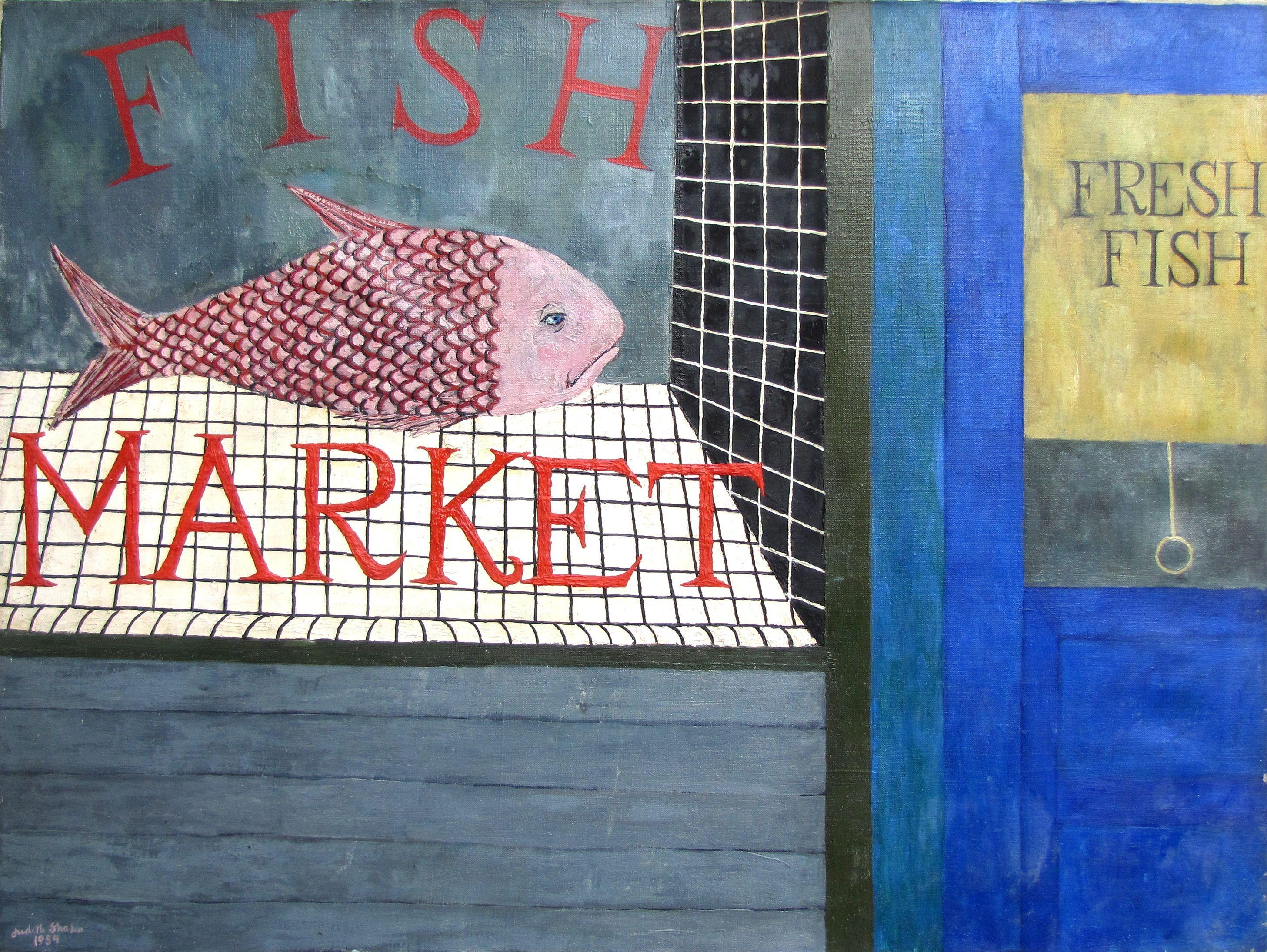 JUDITH SHAHN - Fish Market