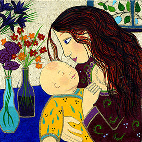 KARLA GUDEON - Mother and Child
