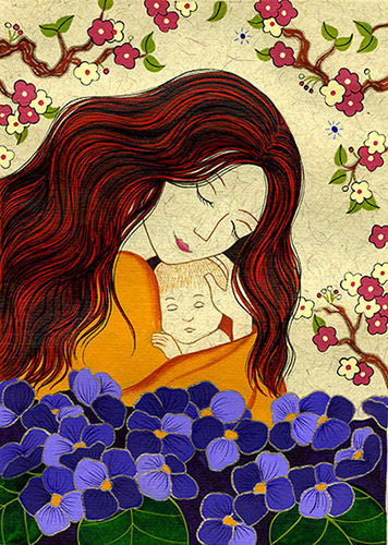 KARLA GUDEON - Mother and Child (new print)