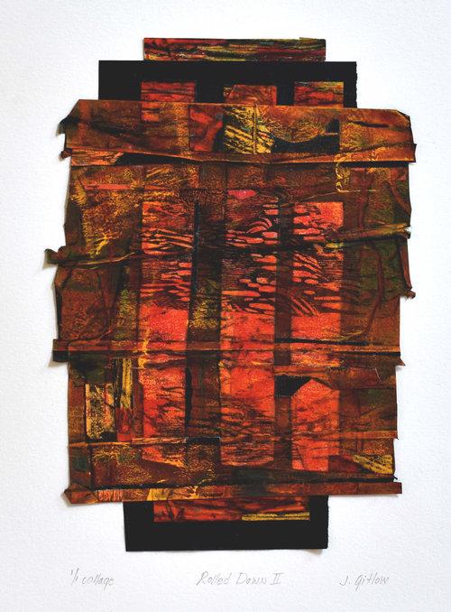 JOAN GITLOW - Rolled Down II