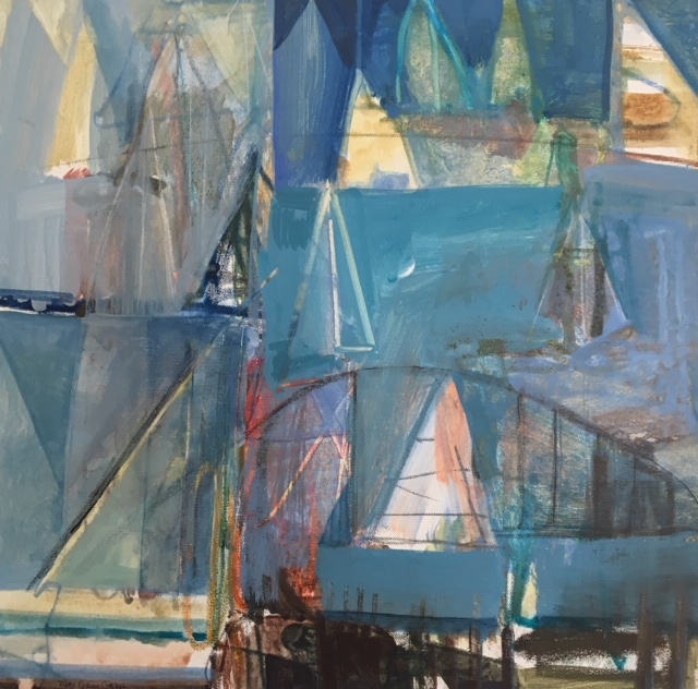 PATRICIA GANEK - Rainbow, sailboat, parade