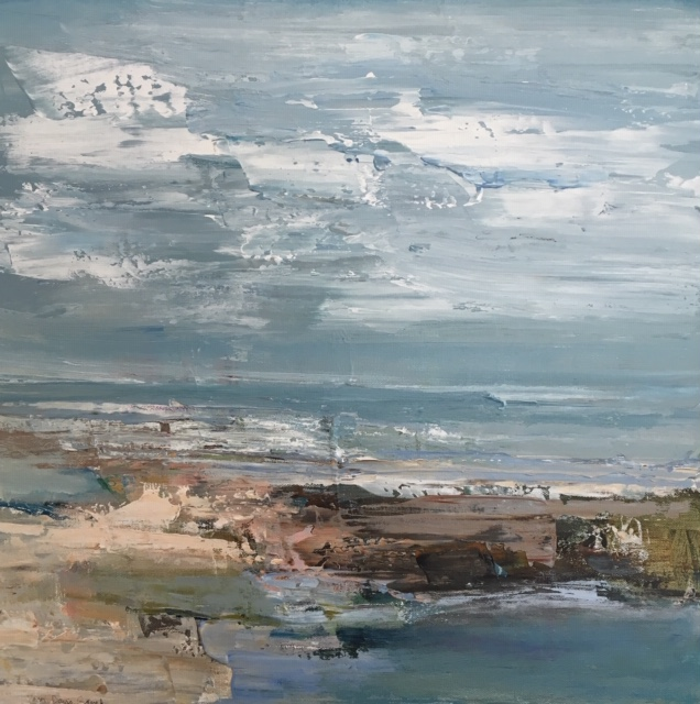 PATRICIA GANEK - Abstract coastline