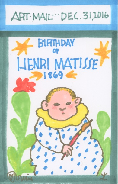 TOMIE DE PAOLA - Art Mail Series