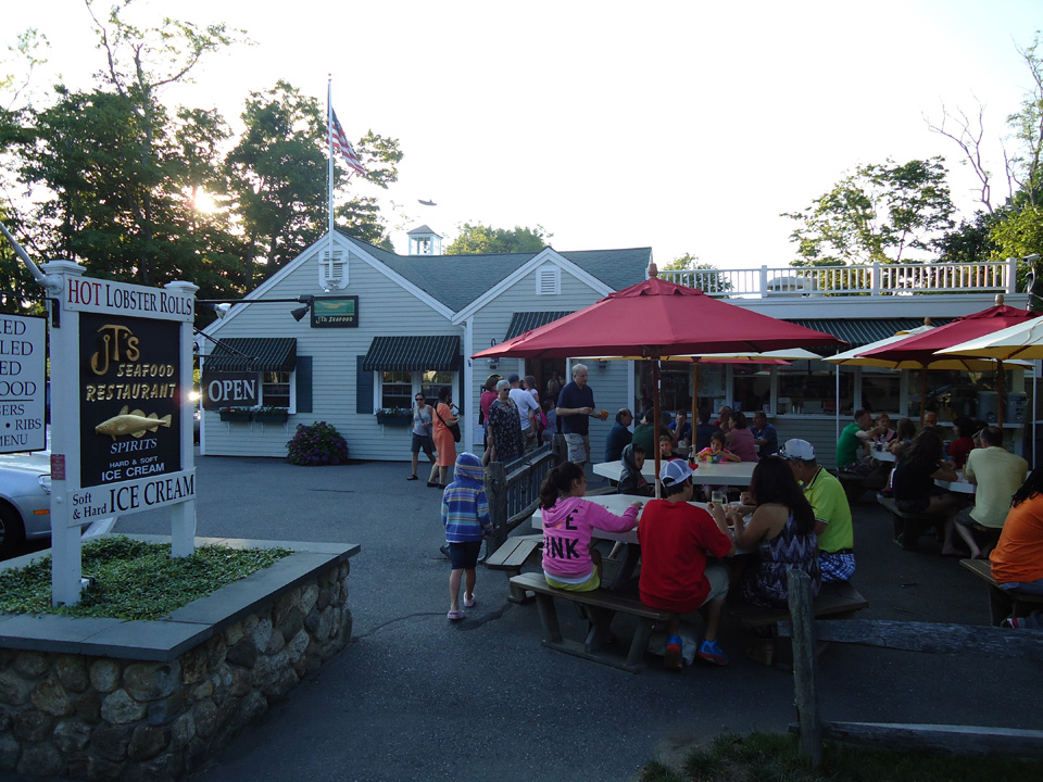 JT's Seafood Restaurant, Brewster Cape Cod