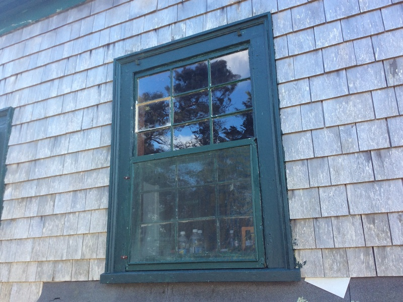 Often, only spot glazing is needed.   -  We are thrifty New Englanders:   Do what you have to, and do it well, but don't do more than is needed.   Once this has been primed and painted, you will never know
