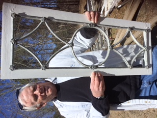 Window Restoration Cape Cod - Transom Window from 1821 AFTER