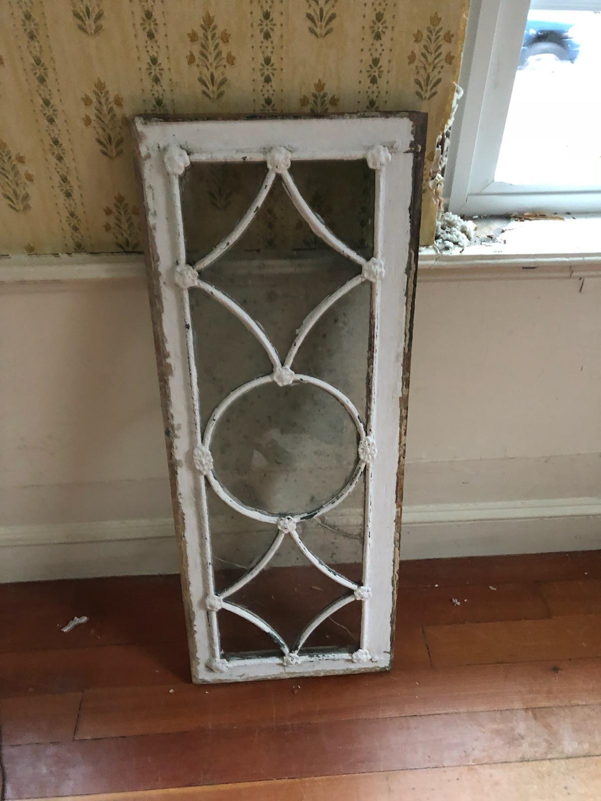 Window Restoration Cape Cod - Transom Window from 1821 BEFORE