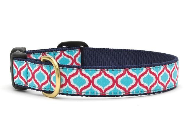 Collars - Blue Kismet Dog Collar