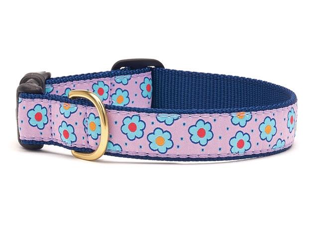 Collars - Flower Field Dog Collar