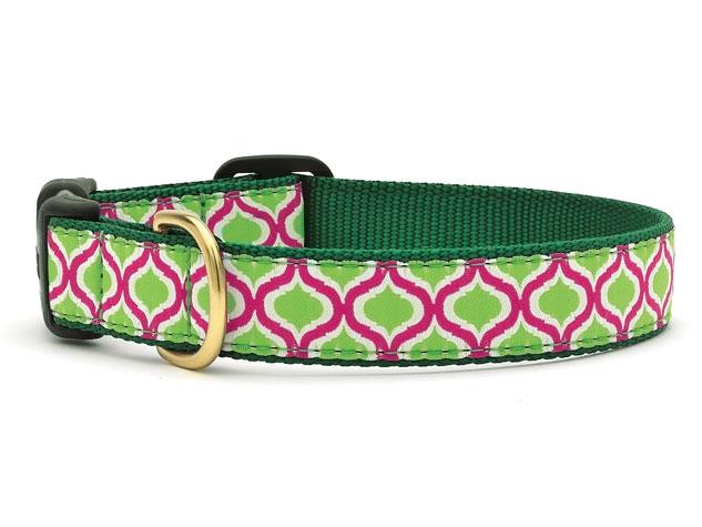 Collars - Green Kismet Dog Collar