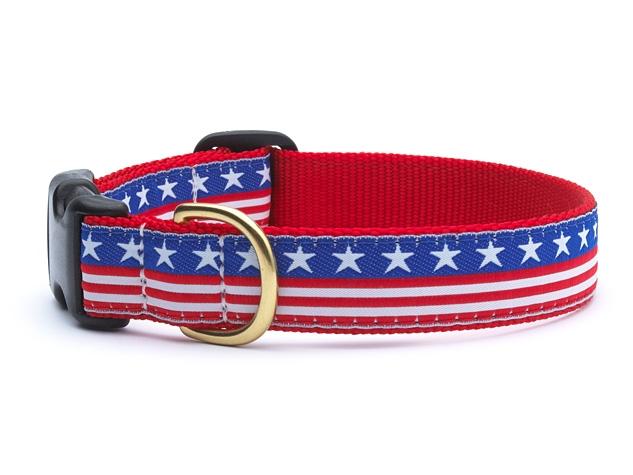 Collars - Stars and Stripes Dog Collar