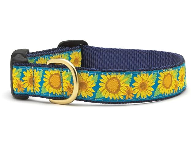 Collars - Sunflowers Dog Collar