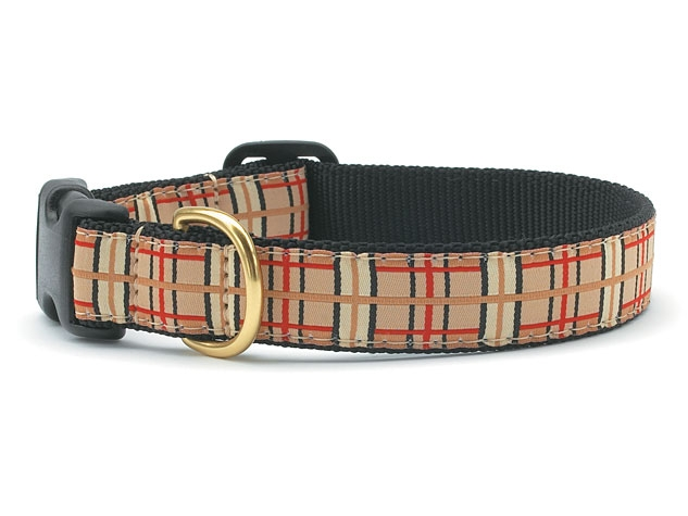 Collars - Town and Country Plaid Dog Collar