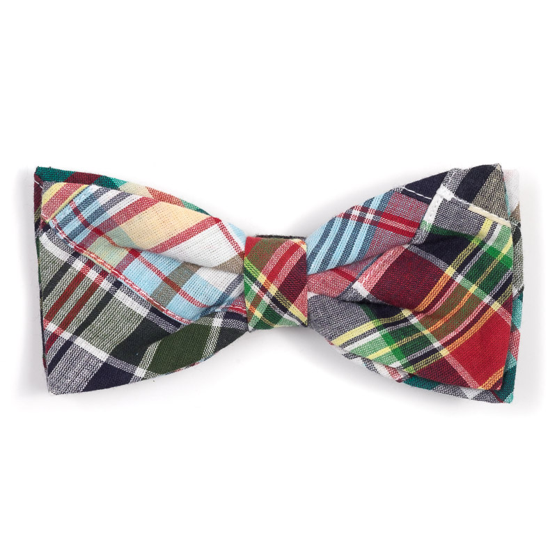 Dog Apparel - Plaid Doggie Bowtie