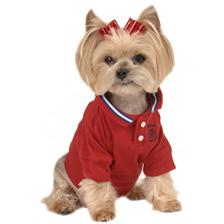 Dog Apparel - Red Doggie Shirt