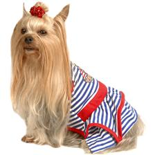 Dog Apparel - Striped Doggie Shirt