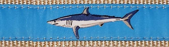 Leashes and More Leashes!! - Light Blue Mako Shark Leash