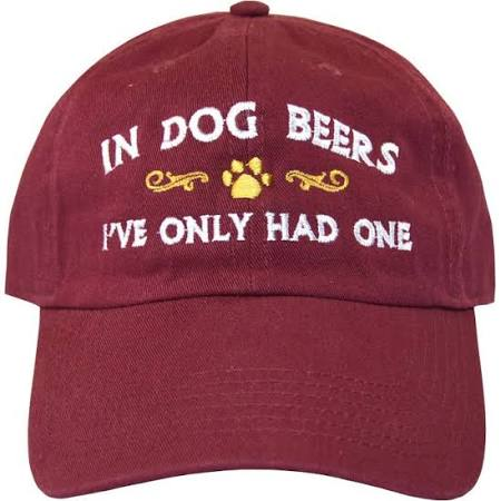 Pet Lovers Apparel! - In Dog Beers Hat