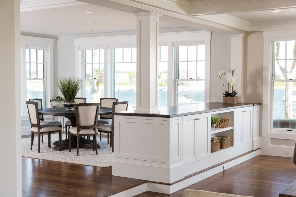 Bass River Builders and Remodeling - Cape Cod Waterfront - Living Spaces