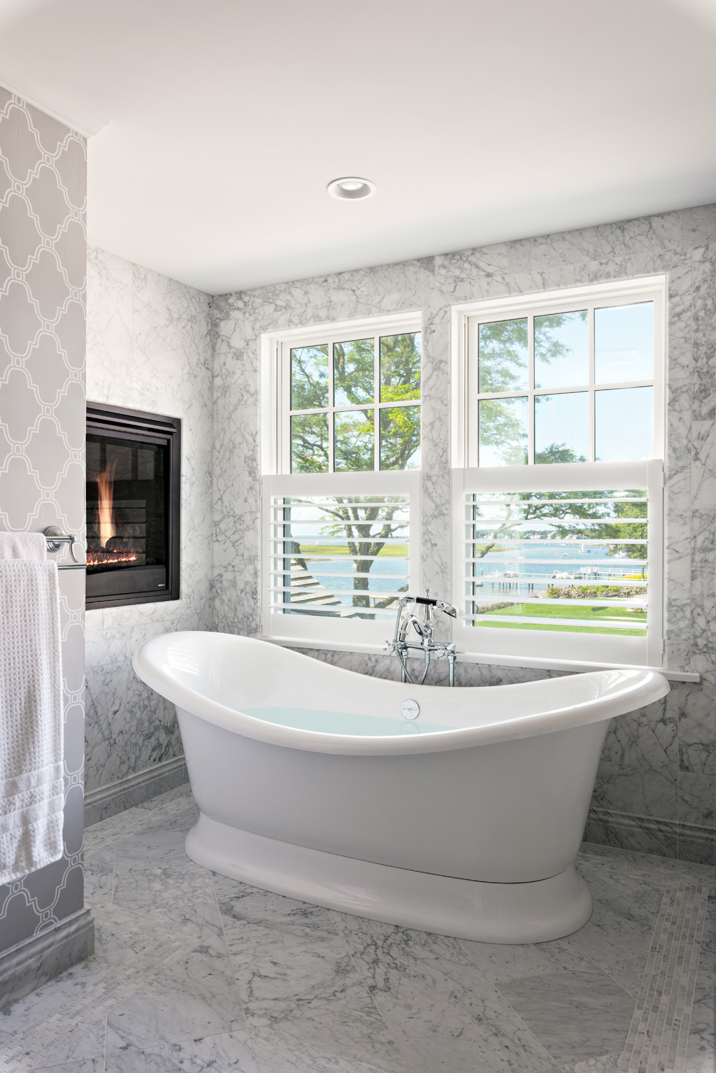 Bass River Builders and Remodeling - Cape Cod Waterfront - Baths
