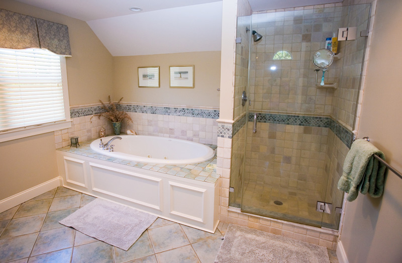 Stello Construction, Inc. Builders and Remodeling - Master Bath