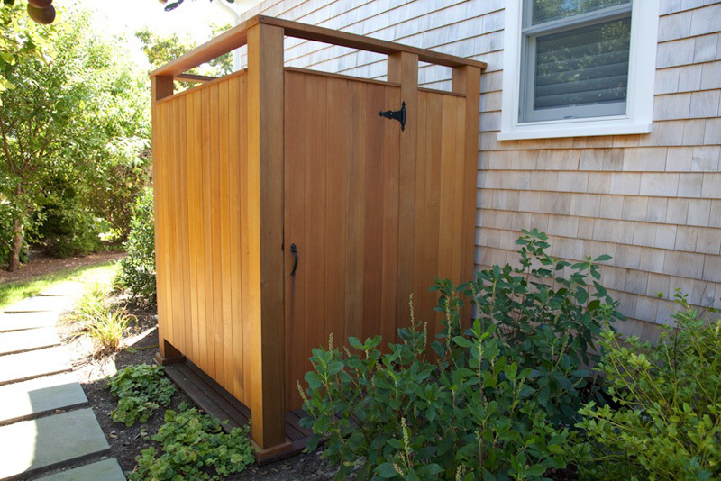 Stello Construction, Inc. Builders and Remodeling - Outdoor Shower