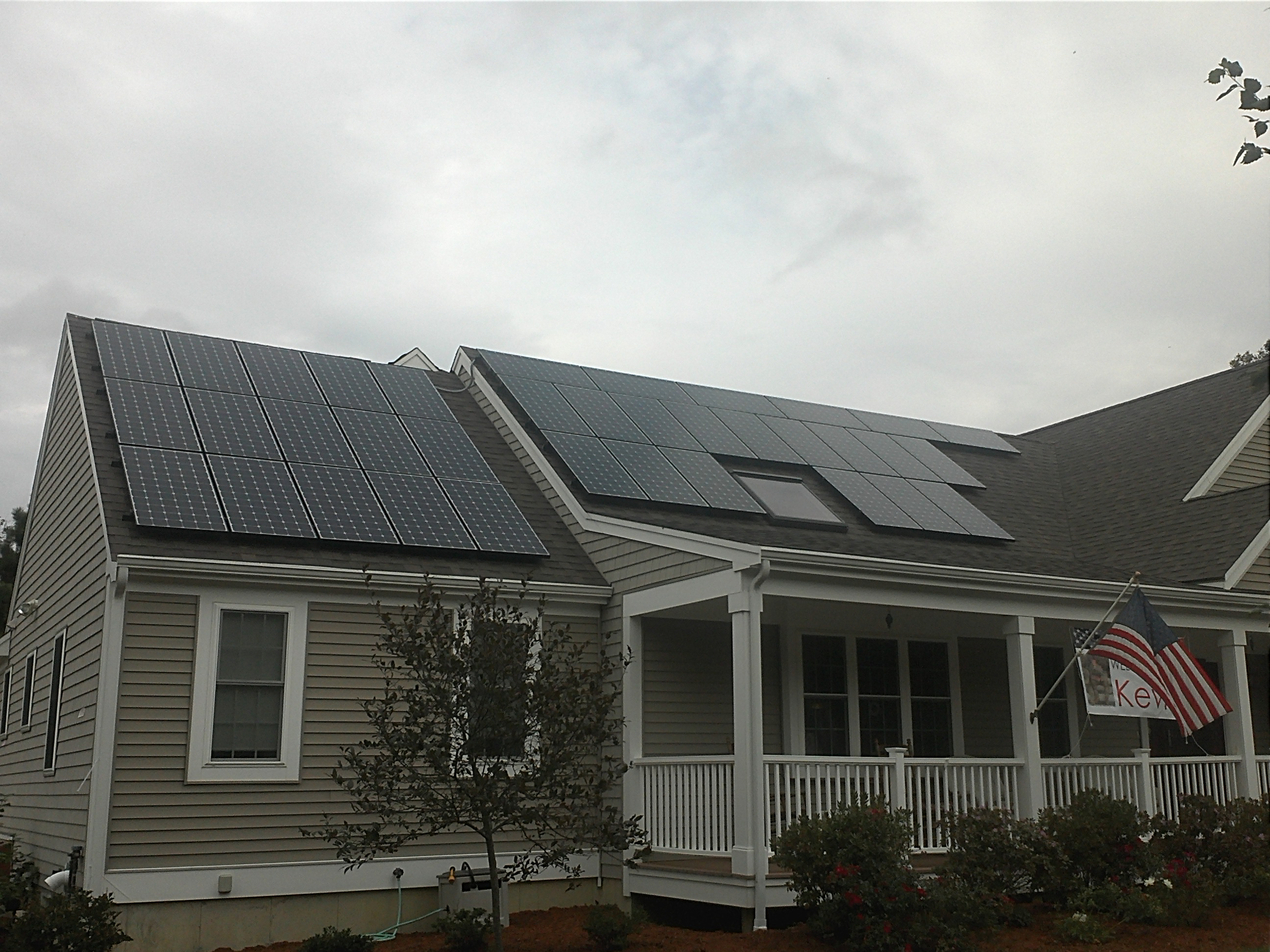East Falmouth Airpark Solar Installation
