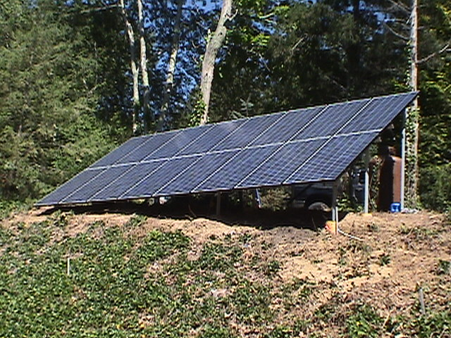 Marstons Mills Ground Mount Photovoltaic System