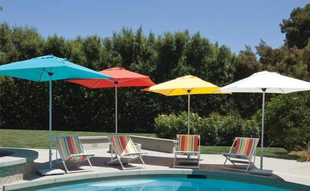 Umbrellas & Cantilevers | Treasure Garden