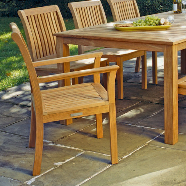 Kingsley Bate Chelsea Collection Dining Set Cape Cod