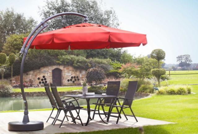Umbrellas & Cantilevers | Sun Garden