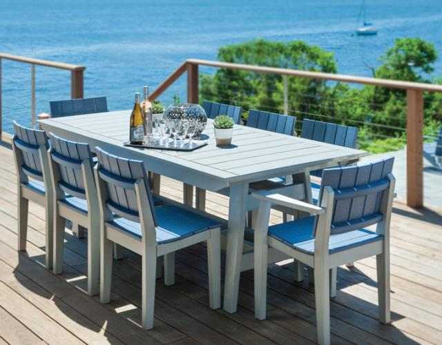 Seaside Casual Furniture Mad Fusion Collection Dining