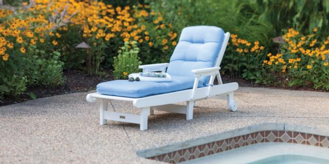 Malibu Outdoor Living Delray Collection Chaise Lounge