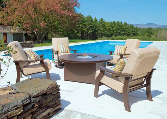 Fire Tables And Pits Outdoor Furniture Casual Designs Of