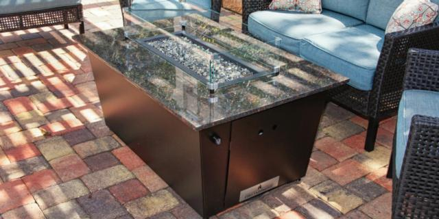 Firetainment Monaco Collection Fire Pit Table Cape