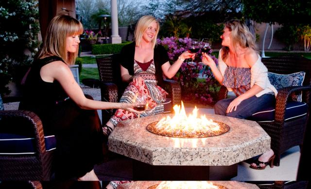 Fire Pit Table | Oriflamme