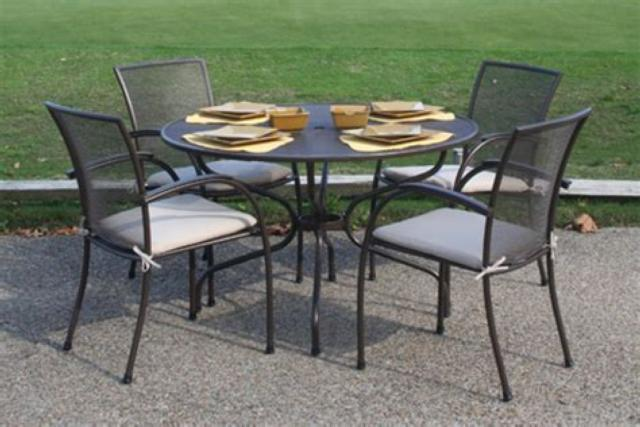Wrought Iron Outdoor Furniture Casual Designs Of Cape